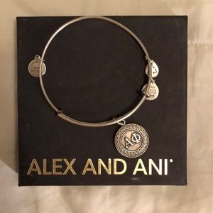 Alpha Phi Alex & Ani Silver Bracelet